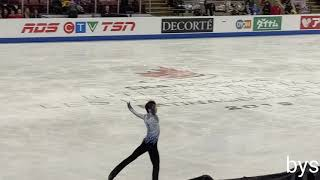 191025 SC 2019 Yuzuru Hanyu 羽生結弦 SP Otonal 4K HD