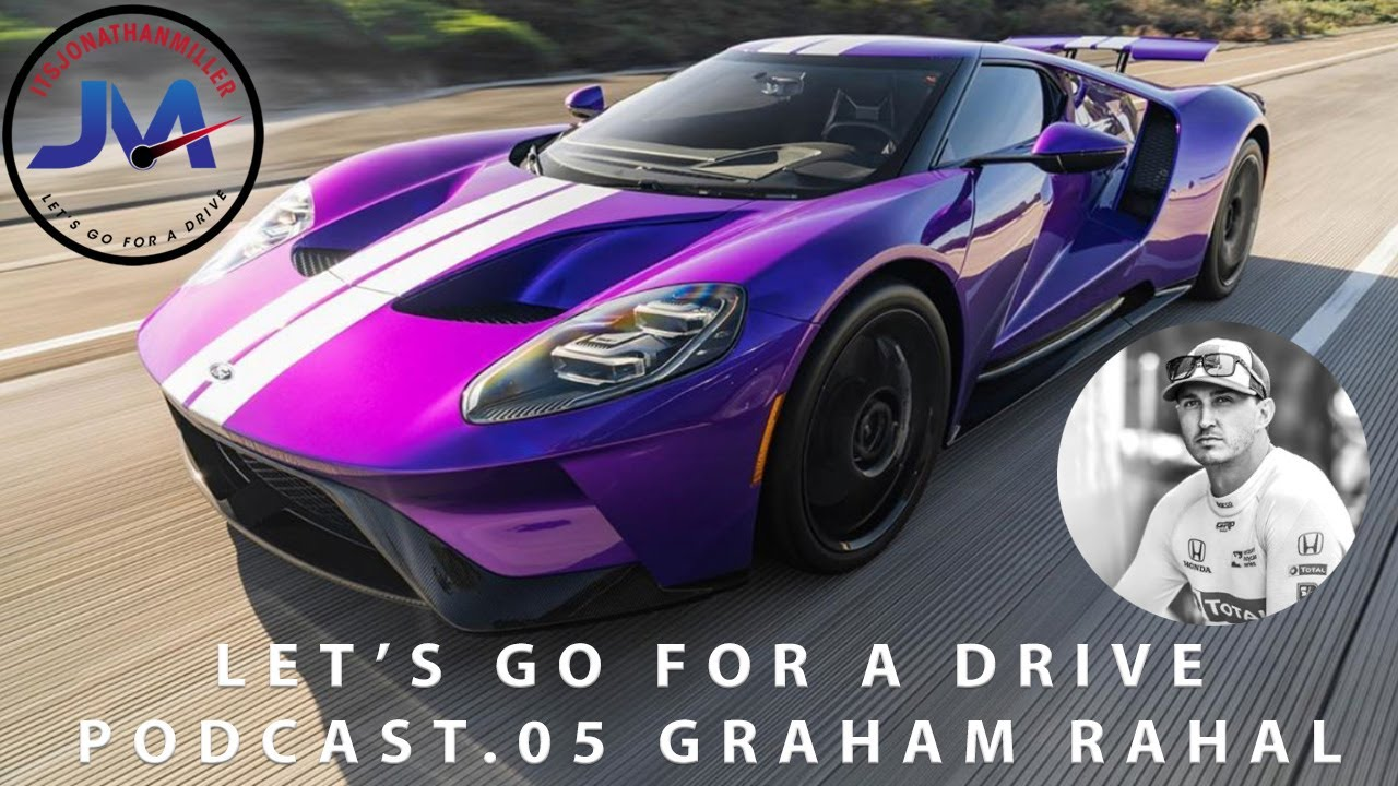 Graham Rahal's Purple Ford GT and 3 Carrera GT's. Plus world EXCLUSIVE