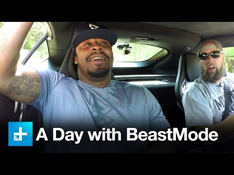 Spend the day with Marshawn Lynch