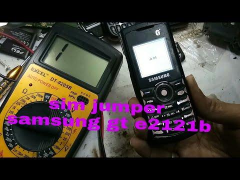 Samsung GT E2121B sim probem solution
