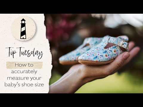 Tip Tuesday:  How To Accurately Measure Your Baby's Shoe Size For Moccasins