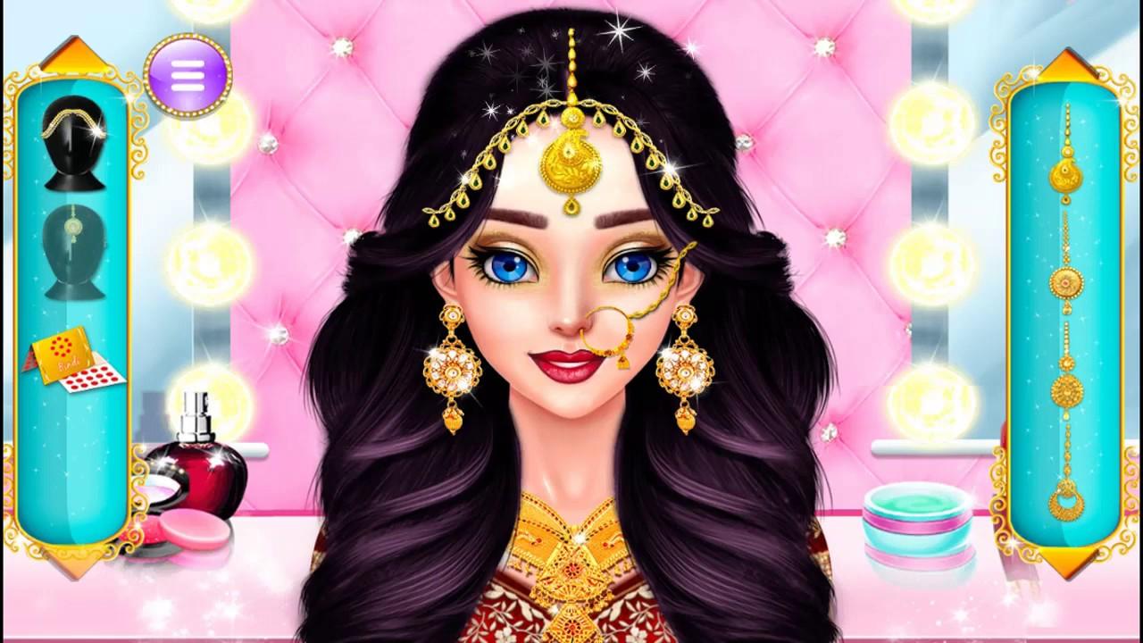 Chọn Váy  Cưới , Trang Điểm, Kiểu Tóc Cho Cô Dâu Ấn Độ– Game Đám Cưới Vui Nhộn// Indian Wedding
