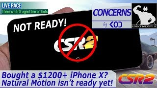 CSR2 - iPhone X not compatible with CSR2 (yet)??
