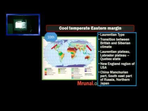 G6/P9: Climatic Regions- Tundra, Taiga, China type