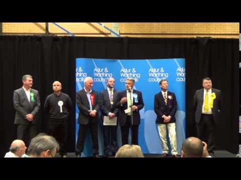 Worthing East & Shoreham | General Election Declaration  | Sky News