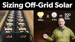 How to Size My Off-Grid Solar System & How Much Does it Cost?