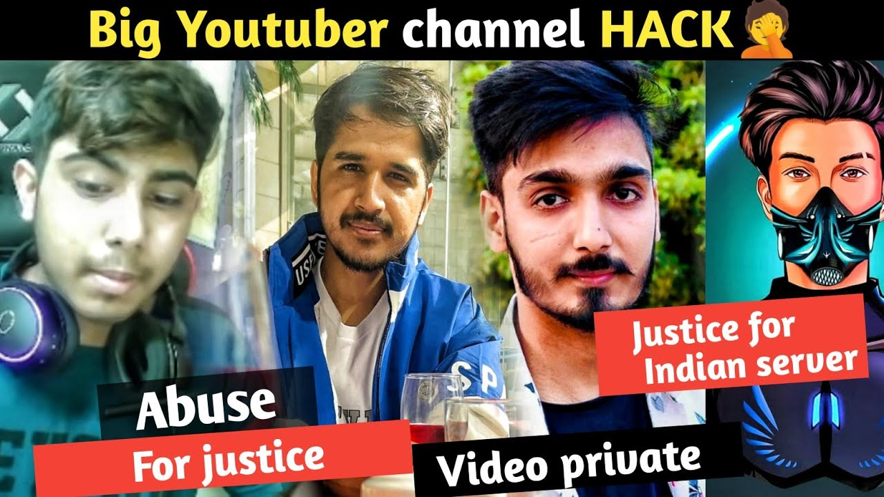 Abuse for justice🤦 || techno banda channel hack || Black Flag army video private || killer ff angry