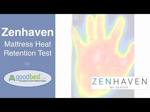 Zenhaven Mattress - Heat Retention Test by GoodBed.com
