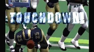 NFL 2k1 Playthrough: St. Louis Rams Vs. Jacksonville Jaguars