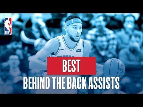 NBA's Best Behind The Back Assists   2018-19 NBA Regular Season