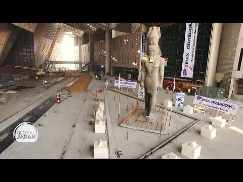 How Cairo Is Preparing Its Massive New Museum - With Japan's Help