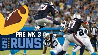 Top 5 Runs (Preseason Week 3) | 2016 NFL Highlights