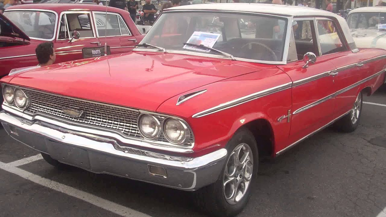 1963 ford galaxy  YouTube