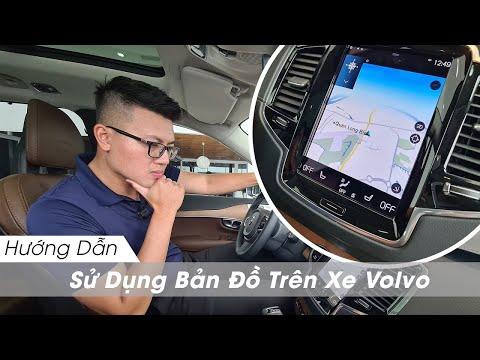 Hướng Dẫn Sử Dụng Bản Đồ Trên Xe Ô tô Volvo