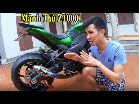 PHD   Đầu Tư $1000 Độ Z1000 Thần Thánh   Moto Tuning