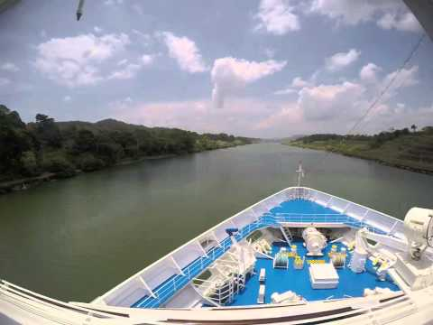 OCEANIA CRUISES MS REGATTA, PANAMA CANAL CROSSING 2015