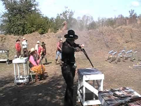 Confederate Colt and General Lee Smokey The Last Stand 2011 Black Powder Shootoff Final