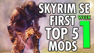 Skyrim Special Edition - Mods Weekly - First Top 5 Mods (PC & XBOX)
