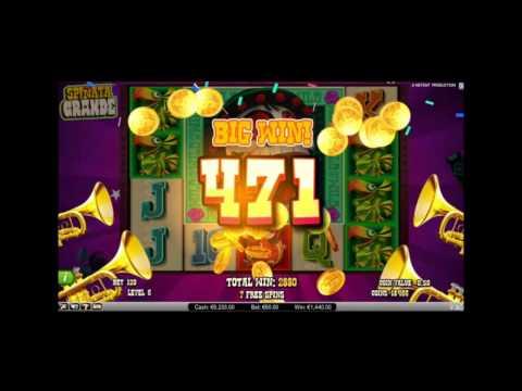 Den Spinata Grande Slot kostenlos spielen