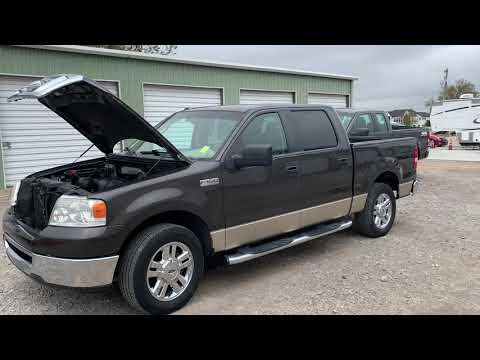 2007 BROWN Ford F-150 Lariat SuperCrew 2WD (1FTRW12W27K) with an 4.6L V8 SOHC 16V engine, 4-Speed Automatic Overdrive transmission, located at 17760 Hwy 62, Morris, OK, 74445, (918) 733-4887, 35.609104, -95.877060 - Photo #0