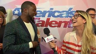Preacher Lawson Talks Being Paired W/ Darci Lynne On Stage + Having His Own SHOW | AGT 2017