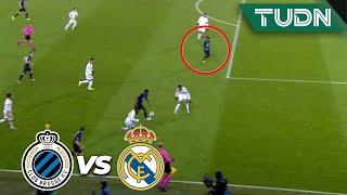¡Se salva el Real Madrid! | Club Brujas 0 - 0 Real Madrid | Champions League - J 6 - Grupo A | TUDN