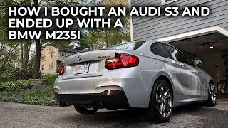 How I Bought an Audi S3 and Ended Up With a BMW M235i