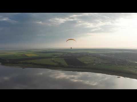 Sunrise Paraglides. Odessa. Kuyalnik.