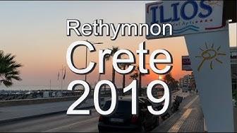 RETHYMNON CRETE 2019 (4K)