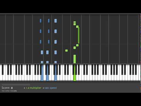 Find Balmung Sword (CB)  - Saint Seiya Piano Tutorial