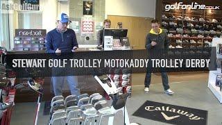 Stewart Golf Trolley Motocaddy Trolley Derby