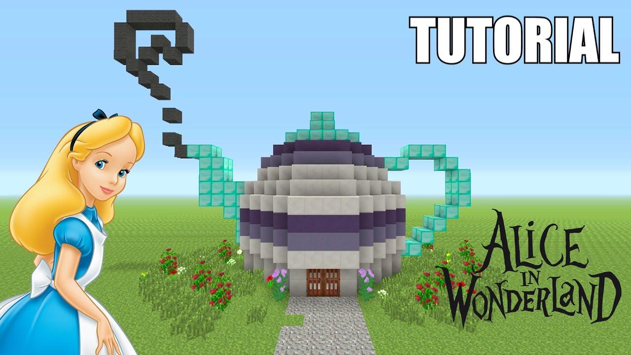 Minecraft Tutorial: How To Make A ALICE IN WONDERLAND ...