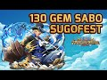 130 Gems Cotton Candy Sugofest! [One Piece Treasure Cruise]