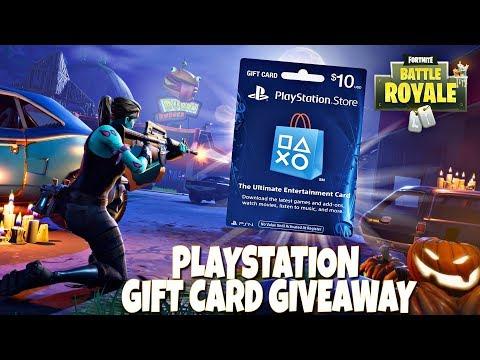 fortnite battle royale playstation gift card giveaway - fortnite gift cards