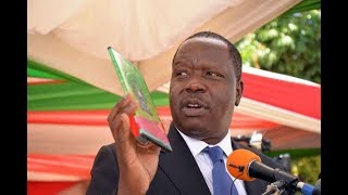 LIVE: Education CS Fred Matiang'i releases 2017 KCSE results