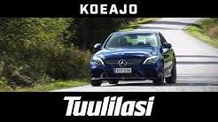 Koeajo: Mercedes-Benz C 200 4Matic A Business AMG (2018) - Tuulilasi
