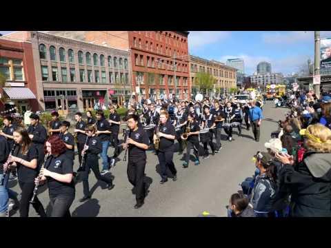 Curtis High School Daffodil Parade 2016