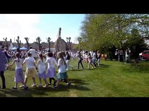 2013 Wheatley, Oxfordshire, May Day General Dancing