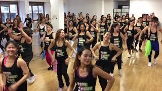 Help Me Make it Through The Night Cumbia Mix Zumba - JM Zumba Dance Fitness Milan Italy
