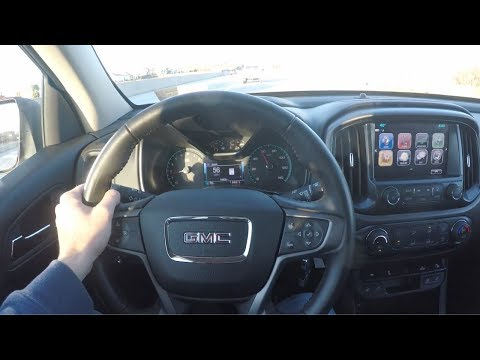 What's It Like To Drive The GMC Canyon All-Terrain?