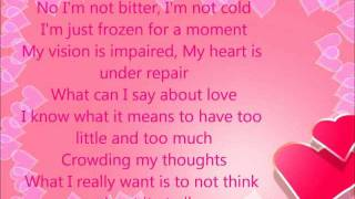 Jennifer Lopez -Frozen moments w/Lyrics