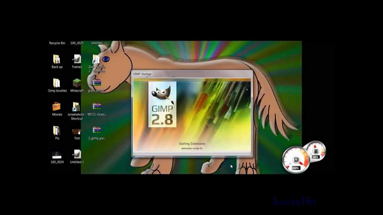 How To add brushes to Gimp 2.8 - YouTube