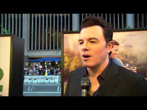 Ted 2: Seth MacFarlane Red Carpet Movie Premiere Interview