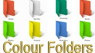 Add Colours to your Folders