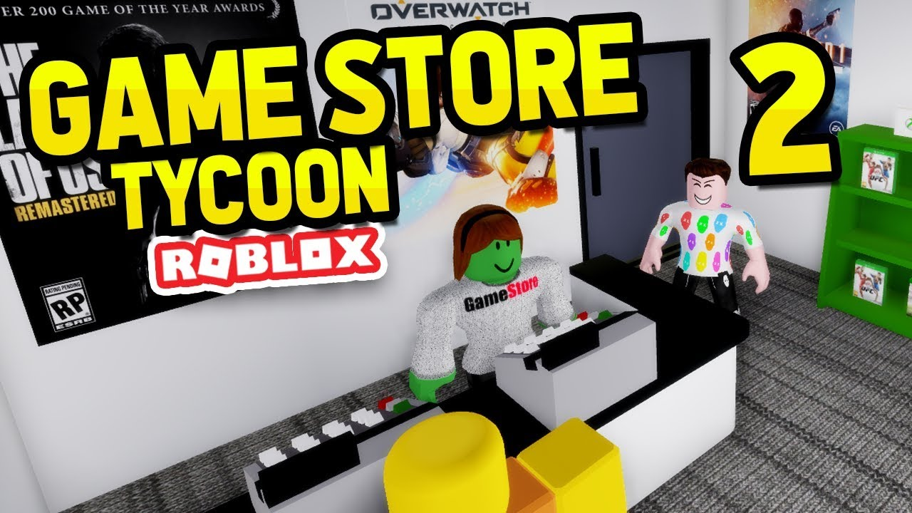 Hiring Employees Roblox Game Store Tycoon 2 Youtube
