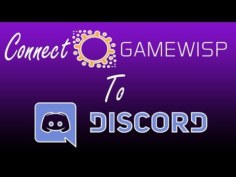 How to connect Gamewisp to Discord Tutorial