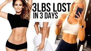 I Did JLO's NO CARB NO SUGAR 10 Day Diet IT WAS MISERABLE
