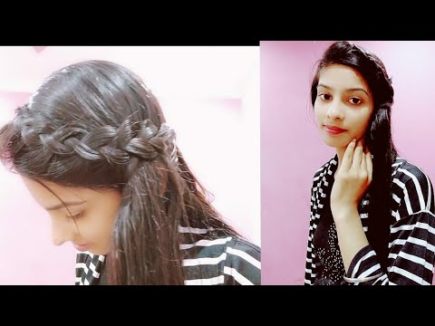 Simple and beautiful hairstyle for long hair