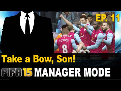 FIFA 15 Manager Mode | Episode 11 | Take A Bow, Son!