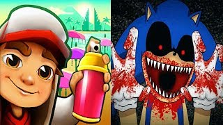 Subway Surfers vs SONIC EXE Reborn BOSS FIGHT